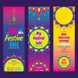 Creative big festive sale design. Creative big festive banner design ,diwali festival offer Royalty Free Stock Image