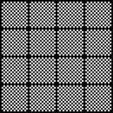 Creative black and white pattern background Stock Images