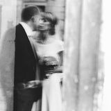 Creative blurry unfocused photo, reflection of  romantic gorgeou Royalty Free Stock Photo