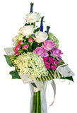 Creative bouquet of flowers Royalty Free Stock Photography