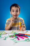 Creative boy Royalty Free Stock Images