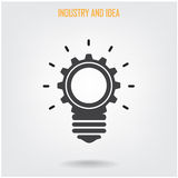 Creative brain Idea concept background Royalty Free Stock Photography