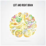 Creative brain Idea concept Royalty Free Stock Image