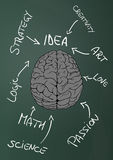 Creative brain Royalty Free Stock Photo