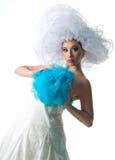 Creative bride royalty free stock photos