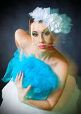 Creative bride stock images