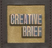 Creative brief framed Royalty Free Stock Images