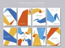 Creative brochure template design Stock Images