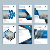 Creative brochure, template or flyer presentation. Creative business brochure set, Corporate template layout, Professional flyer design with space to add images Royalty Free Stock Photos