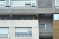 Creative Building Windows and Walls Royalty Free Stock Photo