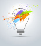 Creative bulb Stock Photography