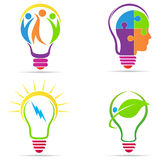 Creative bulb stock illustration