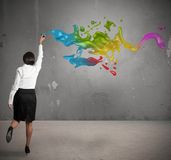 Creative business Royalty Free Stock Images