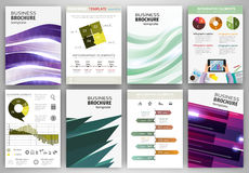 Creative business backgrounds and abstract concept infographics Stock Images