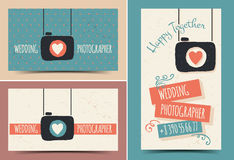 Creative business card photographer Royalty Free Stock Images