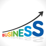 Creative business graph design Royalty Free Stock Photo