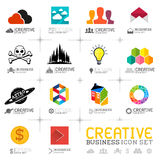 Creative Business Icons Royalty Free Stock Image