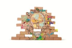 Creative business idea Royalty Free Stock Photography