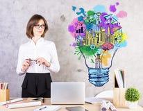 Creative business ideas concept Stock Photo