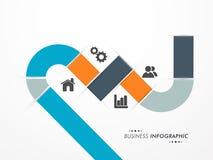 Creative business infographic design. Stock Image