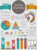 Creative Business Infographic elements set. Royalty Free Stock Photography