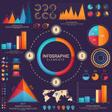 Creative business infographic template layout. Royalty Free Stock Images