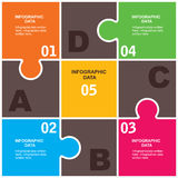 Creative business Infographics Royalty Free Stock Photography