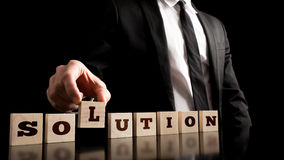 Creative Business Solution Concept Stock Image