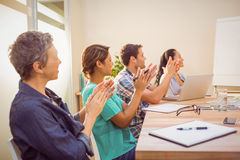 Creative business team in meeting Stock Images