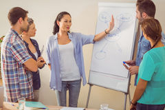 Creative business team in meeting. At the office Royalty Free Stock Image