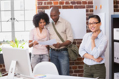 Creative business team in office Stock Image