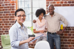 Creative business team in office Royalty Free Stock Image