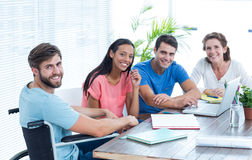 Creative business team in office Royalty Free Stock Images