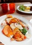 Creative caesar salad Stock Photo