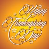 Creative calligraphy of text Happy Thanksgiving Da. Illustration of Creative calligraphy of text Happy Thanksgiving Day Stock Images