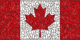 Creative CANADA national flag Royalty Free Stock Image