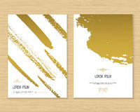 Creative card template Royalty Free Stock Images