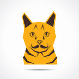 Creative cat face Royalty Free Stock Photography
