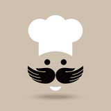 Creative chef idea with hands Stock Photos