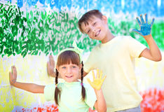 Creative child concept Royalty Free Stock Images