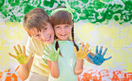 Creative child concept Stock Photography