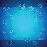 Creative christmas background. Made from mouse cursors Royalty Free Stock Photography