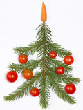 Creative Christmas tree Royalty Free Stock Photos