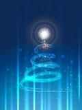 Creative christmas tree. Vector creative christmas festival tree design Royalty Free Stock Photo