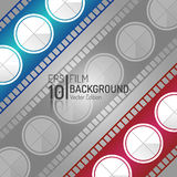 Creative Cinema Background Design. Vector Elements. Minimal  Film Illustration. EPS10. Creative Cinema Background Design. Vector Elements. Minimal  Film Royalty Free Stock Photo