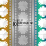 Creative Cinema Background Design. Vector Elements. Minimal  Film Illustration. EPS10. Creative Cinema Background Design. Vector Elements. Minimal  Film Royalty Free Stock Images