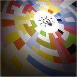 Creative circle abstract vector logo design background. Corporat Stock Photography
