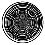Creative circle lines background Stock Image