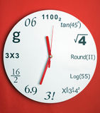 Creative clock Royalty Free Stock Image