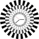 Creative clock face design. Creative clock face circle design Stock Photography
